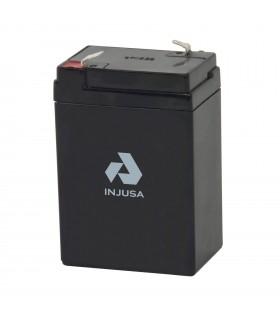 Batería Recargable 6V 4,2AH Injusa
