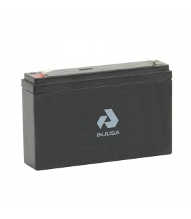Batterie rechargeable 6 V 7,2 AH Injusa