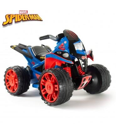 Quad Eléctrico The Beast Spiderman 12V Injusa