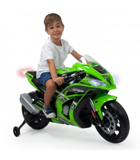 Moto Kawasaki ZX 10 12 V Con Luces y Sonido