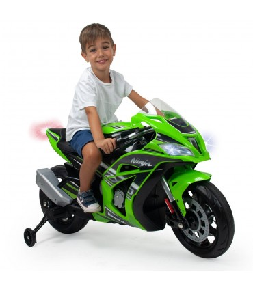 Kawasaki ZX10 12V Motorbike with Lights and Sound