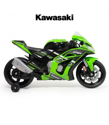 Kawasaki ZX10 12V Motorbike with Lights and Sound