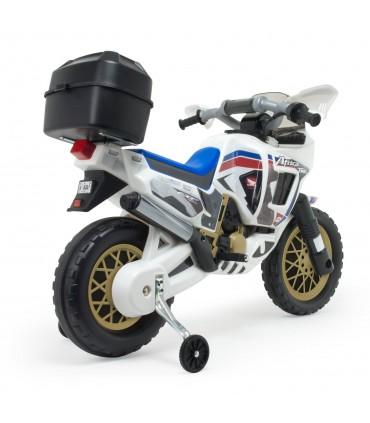 Moto Honda Africa Twin 6V Blanca