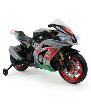 Moto Aprilia RSV 12V con luces y sonidos