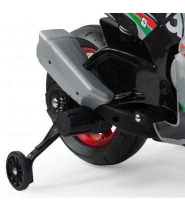 INJUSA APRILIA RSV 12V MOTORBIKE W/LIGHTS/SOUND