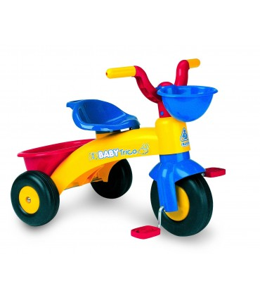 Triciclo Baby Trico Max Azul Injusa
