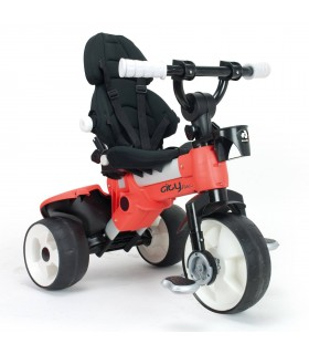 Tricycle Max 360 Rouge Injusa