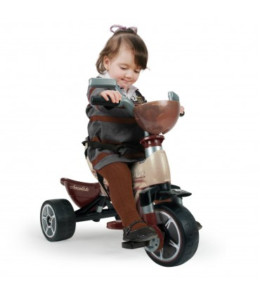 Tricycle Max Chocolat Injusa