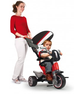 Tricycle Body Sport Rouge Injusa