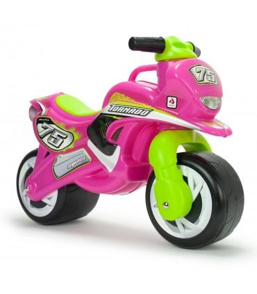 Moto Correpasillos Tundra Tornado Rosa Injusa