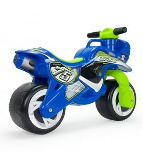 Moto Correpasillos Tundra Tornado Azul Injusa