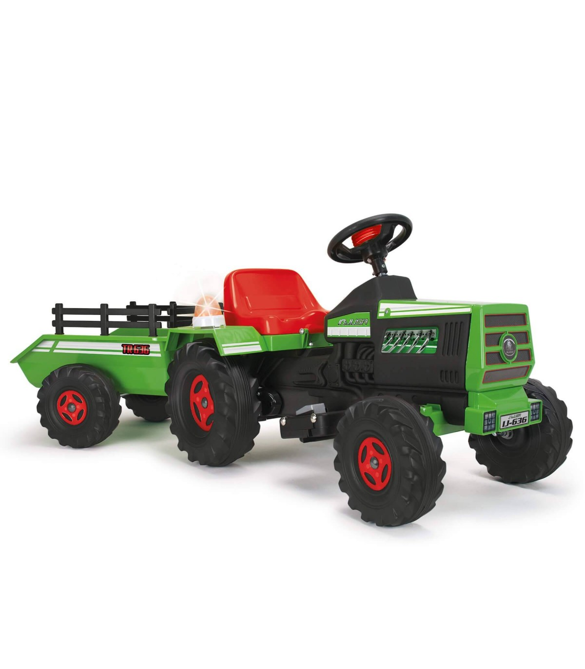 Tractor Basic 6V Injusa