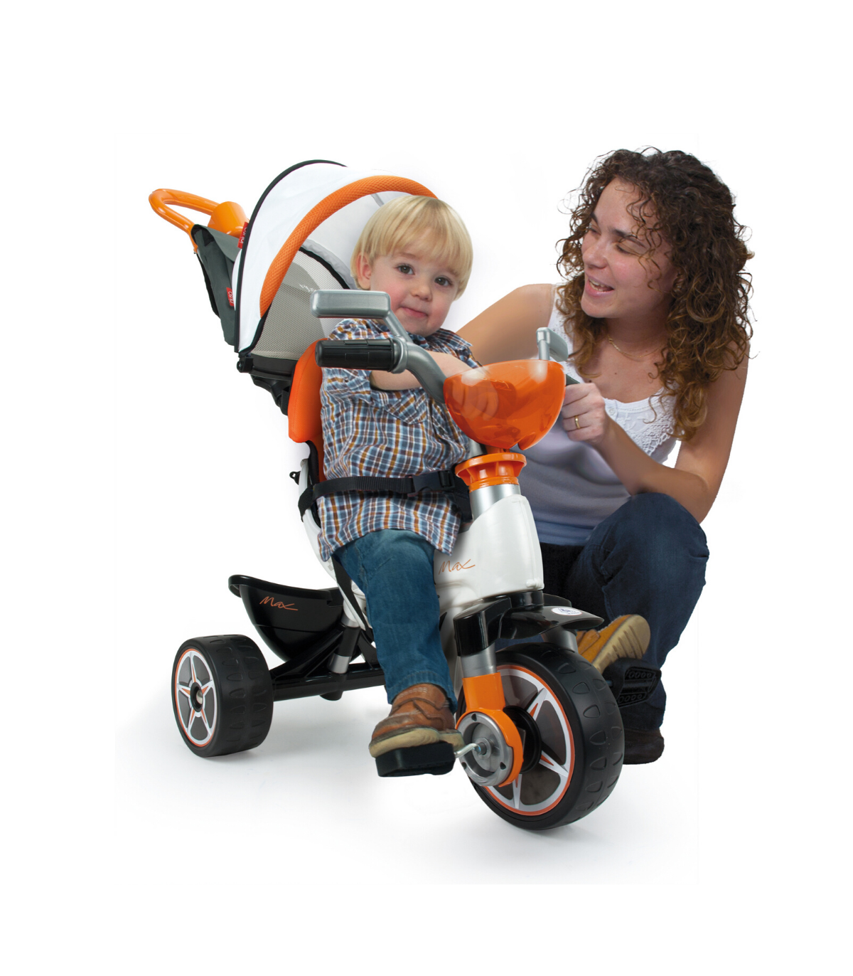 Injusa Body Max Tricycle in Orange
