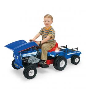 Injusa Dump Track 12V Tractor
