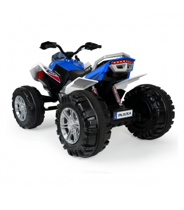 Rage 12V Electric Quad in Blue