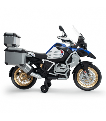 Electric Motorbike BMW 1250 GS Adventure 12V with Suitcases