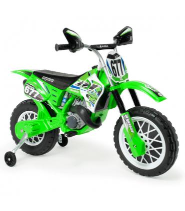 Moto Cross Avigo 6V Color Verde