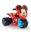 Trimoto Samurai Mickey Mouse 6V Roja