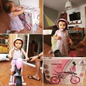 La mami de Arlet, ganadora en Instagram de la bici sin pedales Jumper que sorteamos hace unas semanas, nos envía estas imágenes para que veamos lo contenta que está la peque con su nueva bici.  Nos encanta como le queda, ¡a disfrutarla! 🚴♀️ . . #sorteo #bicicleta #bici #bicisinpedales #Jumper #juguetes #madeinspain #INJUSA