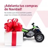 ¡Adelanta tus compras de Navidad! 🎁🎄  . No olvides que ahora también puedes pagar en cómodos plazos. . 👉🏼 www.injusa.com . . #Navidad #regalos #regalosNavidad #comprasnavideñas #juguetes #industriajuguetera #INJUSA