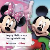 Este verano tus peques vivirán mágicas aventuras con los juguetes de sus personajes favoritos Disney. 😊  Casitas que ayudan a desarrollar su imaginación, toboganes acuáticos para que disfruten de las mejores fiestas de agua y correpasillos con los que explorar nuevos lugares. 🏠 💦  ¡El juego y la diversión están asegurados! 🎈 🔎 www.injusa.com . . #Disney #MickeyMouse #MinnieMouse #casitasinfantiles #toboganes #correpasillos #airelibre #outdoor #jugar #juego #juguetes #toys #madeinspain #industriajuguetera #Injusa