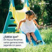 En Injusa llevamos varias generaciones haciendo realidad los sueños de los niñ@s, y lo hacemos con el mismo cariño e ilusión del primer día. ❤ . . #empresa #juguetes #niños #niñas #peques #industriajuguetera #madeinspain #Injusa