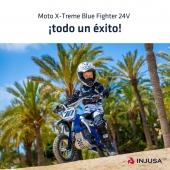 ¡La moto X-Treme Blue Fighter 24V de INJUSA es uno de nuestros productos estrella! ⭐️🥇  Debido a su gran éxito nos hemos quedado sin stock, pero ya estamos trabajando para disponer en breve de nuevas unidades.   #moto #motocross #motoeléctrica #motorbike #BlueFighter #BlueFighter24V #industriajuguetera #juguetes #madeinspain #INJUSA