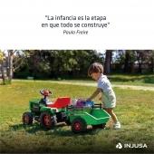 En INJUSA fabricamos juguetes que aportan valor sensorial, educativo y experiencial en su infancia. 💚 . . #infancia #niños #niñas #juguetes #industriajuguetera #madeinspain #INJUSA