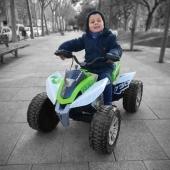 ¡Si hay algo que nos hace realmente felices es ver disfrutar a nuestros pequeños aventureros! ☺️ . Y si es con el Quad Rage 24V de INJUSA entonces el disfrute es mucho mayor, porque gracias a la potencia de su motor alcanza una velocidad máxima de 11 Km/h.   Consíguelo en la web 👉🏽 www.injusa.com  . . #quad #quadrage #quad24V #quadinjusa #industriajuguetera #juguetes #madeinspain #INJUSA