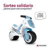 El 2 de abril se celebra el Día Mundial de Concienciación sobre el Autismo y queremos celebrarlo junto a @sumandocolores sorteando nuestro correpasillos Algo de Jaime, inspirado en el cuento del mismo nombre, donde su protagonista es un niño con autismo, y desarrollado para apoyar a @federacion_espanola_de_autismo.   ¡Ayúdanos a dar visibilidad participando en nuestro SORTEO más solidario! Solo tienes que: 1. SEGUIR a @injusa_oficial, @sumandocolores y @algodejaime; 2. Dejar un COMENTARIO en este post;  3. ETIQUETA a un amigo! Cuantas más veces comentes, más posibilidades!  Podéis participar desde cualquier país del mundo hasta el 6 de abril a las 12.01 pm (hora española). ¡Mucha suerte!🤞🏼  Para + info del producto: 👉🏼 Su ergonómico diseño facilita el desarrollo psicomotor, la direccionalidad en el espacio y la lateralidad de los más pequeños, por lo que el niño mejora su sentido de la orientación.  *Condiciones: Los datos de los participantes serán incorporados en un fichero titularidad de INJUSA y se tratarán conforme a las disposiciones de la ley de protección de datos. Los participantes podrán ejercitar los derechos de acceso, rectificación, cancelación y oposición de los datos, mediante la remisión de un mensaje en nuestro perfil de Instagram.  En caso de resultar ganador/a podríamos pedir entrar en vuestro muro tras el sorteo para comprobar que habéis cumplido con los requisitos. En caso contrario, se realizará de nuevo el sorteo. El ganador/a tendrá una semana para contactar con nosotros, de no ser así, repetiremos el sorteo entre los mismos participantes. La participación implica la aceptación de las condiciones. INJUSA se reserva el derecho de eliminar de la promoción por causa justificada a cualquier usuario que defraude, altere o inutilice el buen funcionamiento y el transcurso normal y reglamentario de la misma. Instagram no patrocina, avala ni administra de modo alguno esta promoción, ni está asociado a ella.