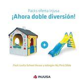 ¡𝗩𝗔𝗠𝗢𝗦 𝗔 𝗝𝗨𝗚𝗔𝗥! 🤸🏻♀️  Ya no hay excusas para que nuestros peques jueguen y se diviertan durante horas este verano gracias a nuestros packs oferta, disponibles en la página web.  ¡Y a unos precios que no esperas! 😳  ¿Con cuál te quedas?  ➡️ www.injusa.com  . . #packs #packsInjusa #verano #páginaweb #juguetes #casitadejuguete #tobogán #madeinspain #industriajuguetera #Injusa