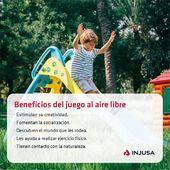 ¡Qué importante es que nuestros peques se diviertan y disfruten durante horas y horas al aire libre! Sí, porque jugar al aire libre ¡siempre es positivo! 🤸🏽♂️  ¿Conoces cuáles son sus beneficios? Pues sigue leyendo porque te los contamos, ¡apunta! ✏️ . . #juego #juegos #jugar #airelibre #niños #niñas #juguetes #madeinspain #industriajuguetera #Injusa