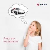 ❤️ Amor es lo que sienten nuestros peques por sus juguetes.❤️ . . #SanValentín #amor #juguetes #amorporlosjuguetes  #niñas #niños #industriajuguetera #madeinspain #INJUSA