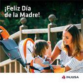 Porque muchas veces nos agotan, nos cansan e incluso nos sobrepasan. Pero a pesar de todo, verles sonreír, jugar y divertirse no tiene precio. 👧🏻👦  ¡Feliz Día de la Madre! ❤ . . #DíadelaMadre #madre #mamá #mamis #niños #niñas #jugar #juego #juguetes #Injusa