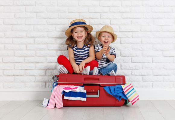 ¿CÓMO PREPARA LA MALETA PARA NIÑOS DE ENTRE 1 Y 3 AÑOS?